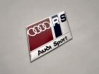 Табличка Audi Sport RS на самоклеящейся основе