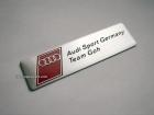 Табличка Audi Team Goh на самоклеящейся основе