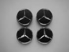 Заглушки колесные Mercedes Carbon