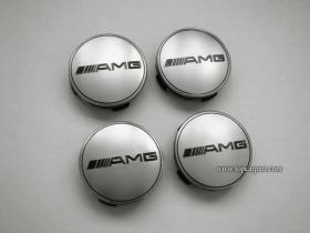 Заглушки колесные Mercedes AMG