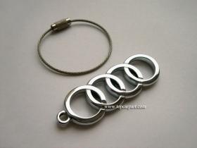Брелок металлический Audi
