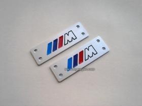 Табличка на салонный коврик BMW M