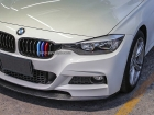Вставки в решетку радиатора в цветах BMW M