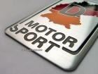 Табличка Deutschland Motor Sport на самоклеящейся основе