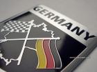 Табличка Germany на самоклеящейся основе