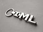 Брелок металлический Mercedes ML-Class