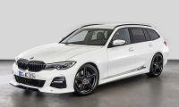 Пакет аэродинамики для BMW 3-Series G21 от AC-Schnitzer готов.