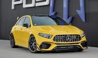 Турбокит от Posaidon для Mercedes-AMG A45 о 525 силах.