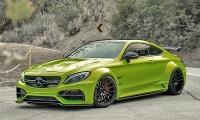 Кислотно-зеленый Prior Design Mercedes-AMG C63 S Coupe от RDBLA.