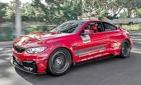 Калифорнийская BMW M4 Vorsteiner GTRS4-VX.