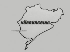 Наклейка самоклеящаяся Nurburgring