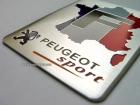 Табличка Peugeot Sport на самоклеящейся основе